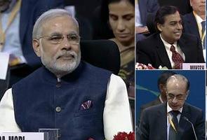 Vibrant Gujarat Summit Mein Narendra Modi Ki Taareefon Ke Pul
