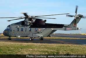 Helicopter Sauda  Pehle Din Bhaarateeya Jaanch Dal Ko Naheen Mili Khaas Kaamayaabi