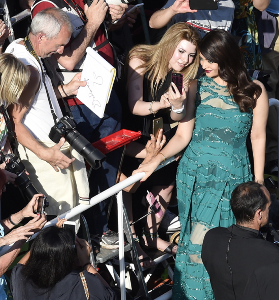 Aishwarya Rai Bachchan Sparkles in Green at Cannes