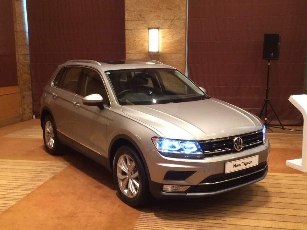 vw new car releaseNew Volkswagen Tiguan Launch Highlights  NDTV CarAndBike