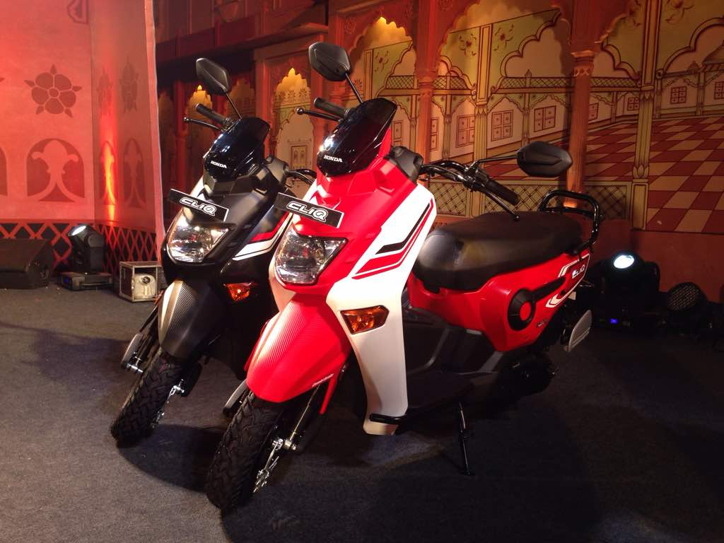 Here s a look at the honda cliq in images priced at rs 42 499 ex showroom delhi