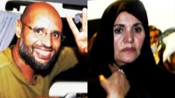 Video : Where is Gaddafi's family?