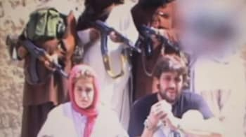 Video : Taliban releases video of captured Swiss couple