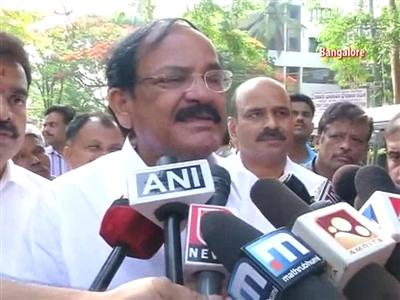 Video : Confident we will form the govt in Karnataka: BJP's Venkaiah Naidu