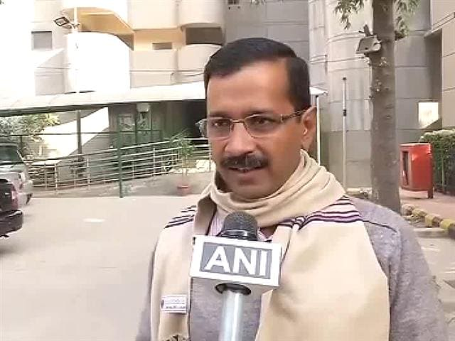 Video : Not being allowed to talk to Anna, BJP behind ink attack: Arvind Kejriwal