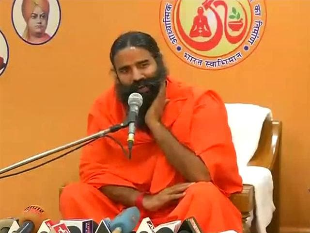 Video : Congress wants Ramdev to apologise for saying 'Rahul goes to Dalit houses for honeymoon'