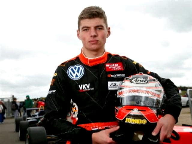 Video : Max Verstappen Set to Become Youngest F1 Driver