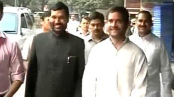 Rahul Gandhi watches Chirag Paswan's debut film