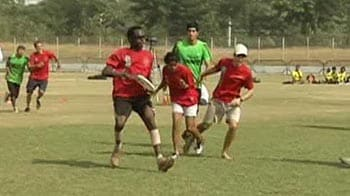 Video : First frisbee tournament in India