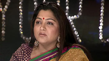 Video : Can't call Kanimozhi guilty, says Kushboo