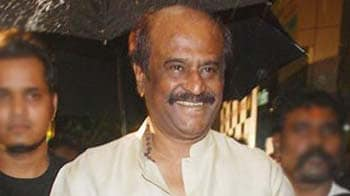 Video : Rajinikanth turns babysitter for grandson