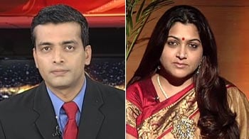 Video : I'm not in favour of a government ban: Khushbu on Dam999