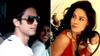 Video : It's holiday time for Shahid, Veena lashes out