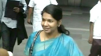Video : Kanimozhi back in Chennai after 6 months in prison