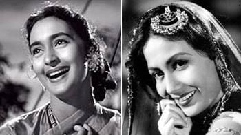 Tribute to screen goddesses of 50s