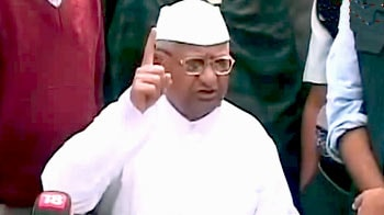 Video : Will continue agitation for a strong Lokpal Bill, says Anna Hazare