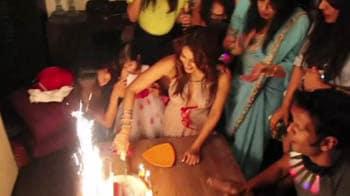 Video : Leaked: Bipasha's birthday bash video