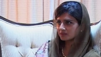 Video : US should stop pushing Pakistan, says Hina Rabbani Khar