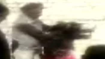 Video : Video captures Punjab Police brutality, woman beaten up