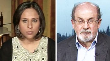 Video : I'm returning to India, deal with it: Salman Rushdie to NDTV
