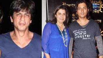 Video : Shirish, Farah patch up with SRK