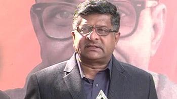Video : PM, Sonia Gandhi must break silence on 2G: BJP