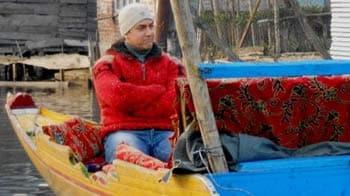 Video : Aamir Khan shoots in the Kashmir valley
