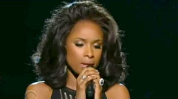Jennifer Hudson's tribute to Whitney Houston