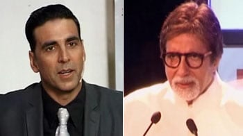 Video : Emotional Akshay, Bhojpuri film for Big B