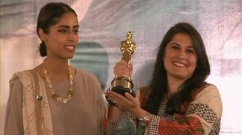Sharmeen relives Oscar winning moment