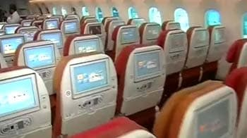 Video : On board  the Dreamliner Boeing 787 for Air India