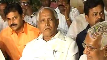 Video : Be patient, don't malign the party, says BJP to Yeddyurappa