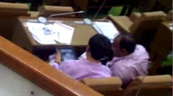 Video : BJP members allegedly viewed obscene photos on tablet in Gujarat Assembly