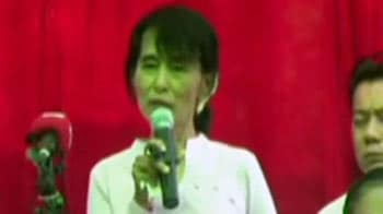 Video : No regrets for fighting elections: Aung San Suu Kyi