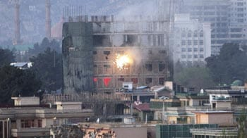 Video : Fighting in Kabul ends with explosions, heavy gunfire