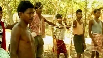 Video : Cops beat tribals while looking for Collector