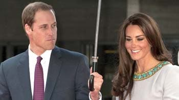 Video : Prince William and Kate mark first wedding anniversary