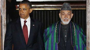 Video : Obama in Afghanistan on Osama's death anniversary, signs pact