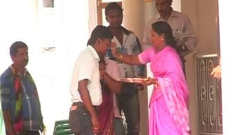 Video : Freed by Maoists, Collector reaches home
