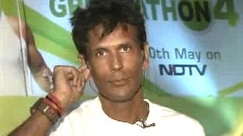 Video : Milind Soman runs for the environment