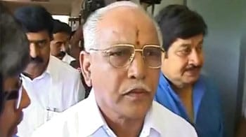 Video : 'Will come out clean,' says Yeddyurappa after CBI probe ordered
