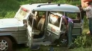 Video : Six CISF personnel, one driver killed in Maoist ambush in Chhattisgarh