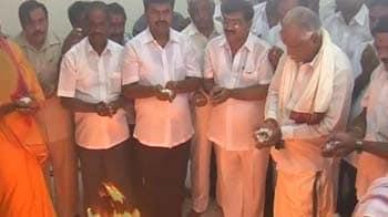 Video : Yeddyurappa picks new office, preps to meet Arun Jaitley