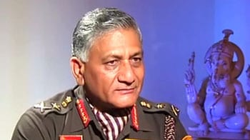 Video : Army did not leak confidential letter to PM: General VK Singh to NDTV