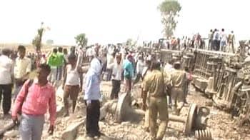 Video : Doon Express derailment: Four killed, Mamata floats sabotage theory