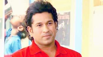 Video : Proud father Sachin Tendulkar on his son's maiden century