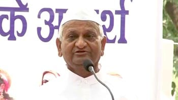 Video : Sacrifices have to be made to achieve a great goal: Anna Hazare
