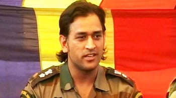 Video : Dhoni keen on joining Army after cricket