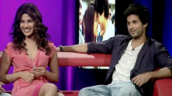 Why three is Shahid and Priyanka's lucky number