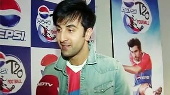 Video : Ranbir excited to be coached by Drogba